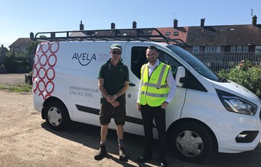 Avela Home Service donates new kitchen to local community garden