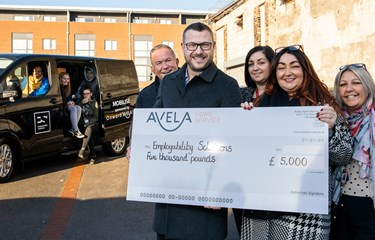 Avela Home Service sponsors minibus to support young people in South Liverpool